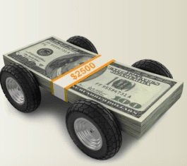 Go with a car title loan company to get money for your vehicle equity and avoid a credit union or bank.