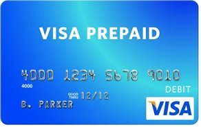 Use a prepaid card from a bank to get fast access to your cash.