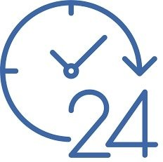 It often takes 24 hours to get cash with a title loan.