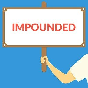 An impounded vehicle can end up costing you thousands of dollars in fees.